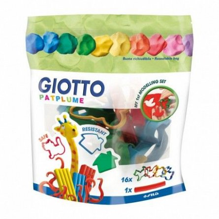Set accesorii modelaj,Giotto,17pcs