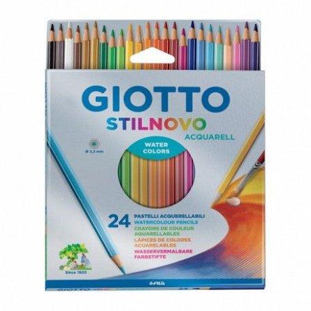 Creioane colorate,Giotto,Stilnovo,24buc/set