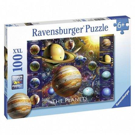 Puzzle Ravensburger - Planete, 100 piese