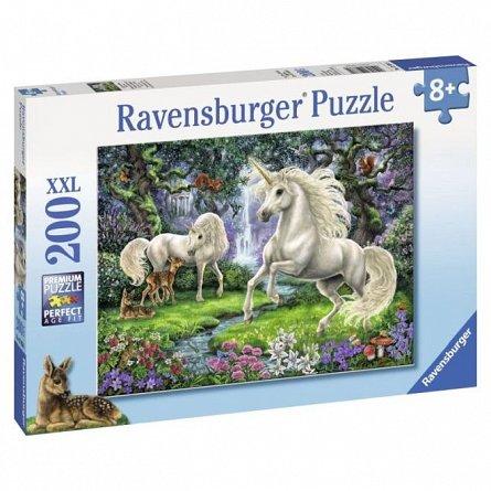 Puzzle Ravensburger - Unicornii mistici, 200 piese