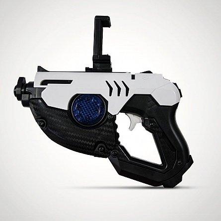 Pistol AR/VR RED5 SuperAR Gun pt telefon, BT, alb
