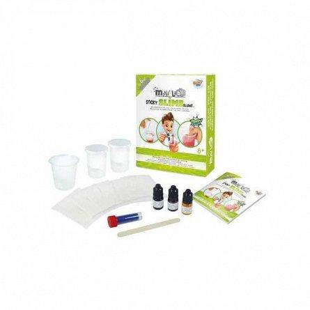 Mini Laborator de slime,kit 6 experimente,Buki,+8Y