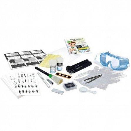 Amprente digitale,Sciences,kit 12 experimente,Buki,+8Y