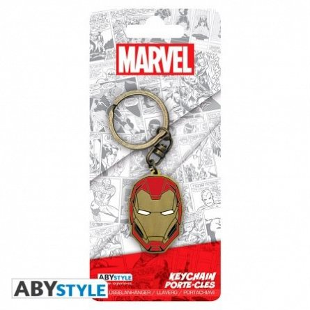Breloc metalic Marvel Iron Man X4, ABYstyle