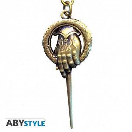 Breloc metalic Game of Thrones 3D Hand of King,ABYstyle
