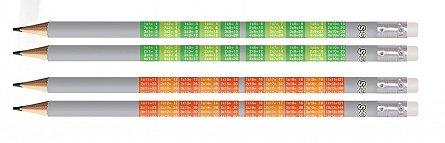 Creion grafit S-Cool Tabla inmultirii,HB,radiere,div.modele