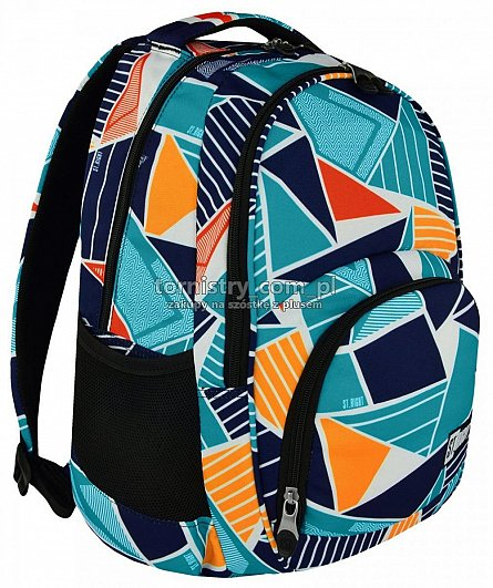 Rucsac 31x44cm,3comp,St.Right,Ice Blue