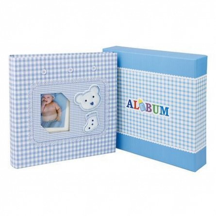 Album foto,200poze,10x15cm,Little Bear,albastru