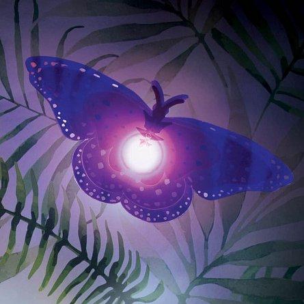 Lumina ambientala Butterfly Wall