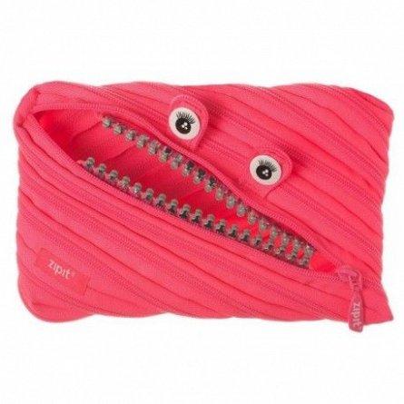 Pouch 23x2x15cm,ZipIt,Grillz Monster,roz