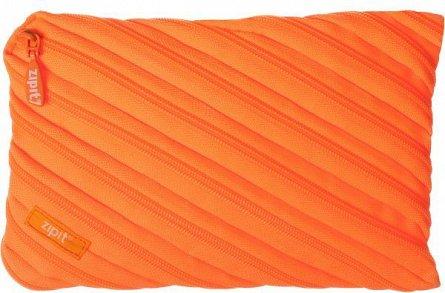 Pouch 23x2x15cm,ZipIt,Neon Jumbo,orange
