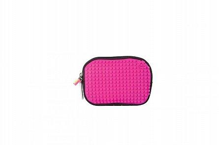 Penar tip borseta Pixie, 15x2x11 cm, roz