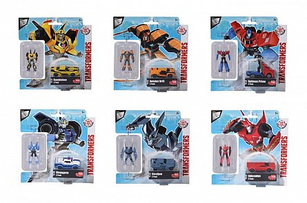 Masina si robot,Transformers,2buc/set,div.modele,Dickie