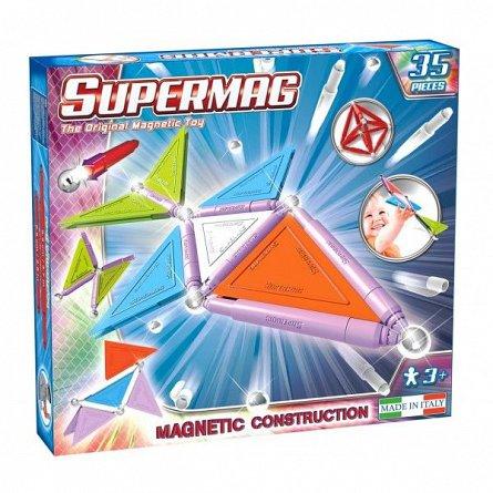 Supermag,Tags,Trendy-Set constructie,magnetic,35pcs,+3Y