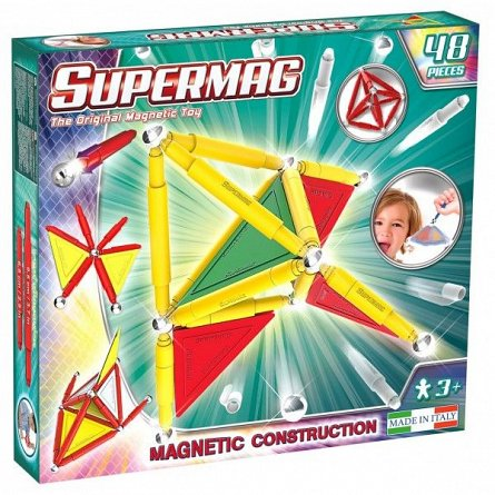 Supermag,Tags,Primary-Set constructie,magnetic,48pcs,+3Y