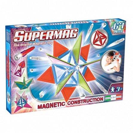 Supermag,Tags,Trendy-Set constructie,magnetic,67pcs,+3Y