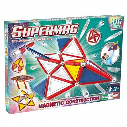 Supermag,Tags,Primary-Set constructie,magnetic,116pcs,+3Y