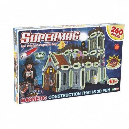 Supermag,3D-Set constructie,magnetic,Castel,260pcs,+5Y