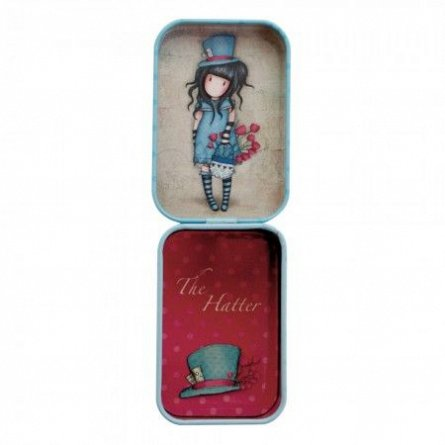 Cutie metalica 7x5x4cm,The Hatter