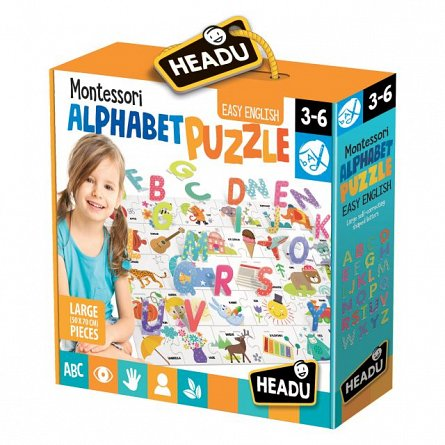Puzzle Headu - Puzzle alfabet 3d