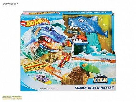 Set de joaca,Hot Wheels,Batalia rechinului,City