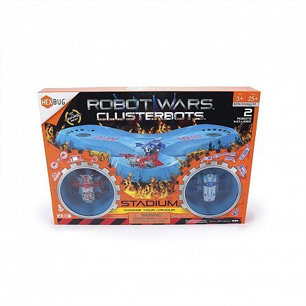 Robot Wars Clusterbot Stadion Antrenament