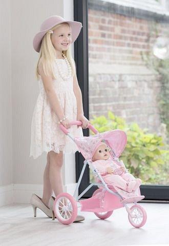 Baby Annabell-Carucior cu 3 roti