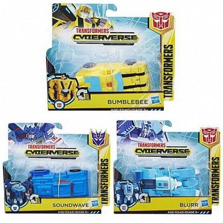 Transformers Bumblebee-Figurina,Cyberverse 1,Step Changer