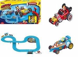 Pista Mickey si pilotii de curse,3.5m,cu 2masinute,Mickey,Carrera