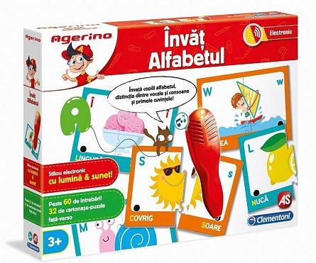Joc educativ,invat alfabetul,Agerino