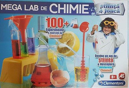 Set stiinta si joaca,Mega lab de chimie,+8Y