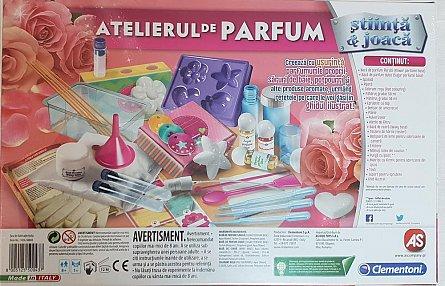 Set stiinta si joaca,Atelierul de parfum,+8Y