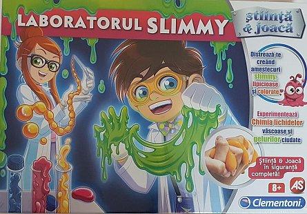 Set stiinta si joaca,Slime,Laboratorul slimmy,+8Y