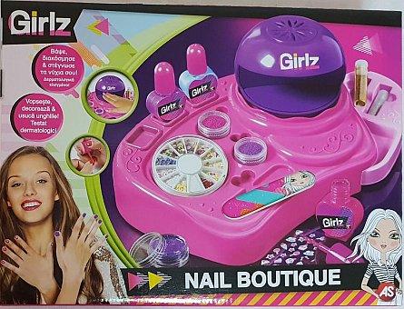 Magazin cu accesorii pt unghii,set joaca,Girlz