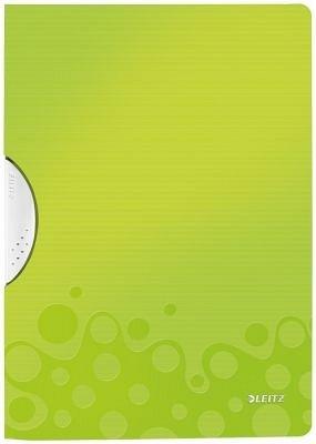 Dosar cu clip A4,PP,verde,Leitz