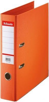 Biblioraft A4,75mm,Esselte,PP/PP,portocaliu