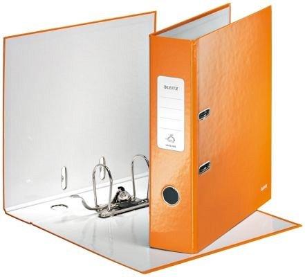 Biblioraft A4,50mm,Leitz,PP,portocaliu metalizat