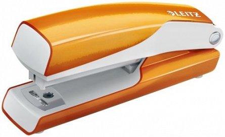 Capsator Leitz mini 5528,10 coli,portocaliu