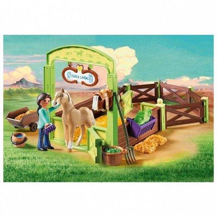Playmobil-Set ingrijire cai,Pru si Chica Linda