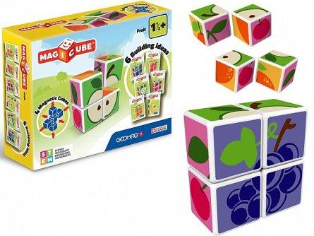 Geomag-set contructie magnetic,Magicube,fructe