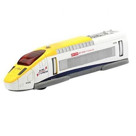 Teamsterz,tren de mare viteza,lumini,sunete,galben