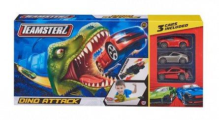 Teamsterz,lansator,dino attack,cu 3 masini