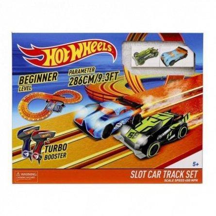 Circuit Hot Wheels,286cm,cu 2masinute