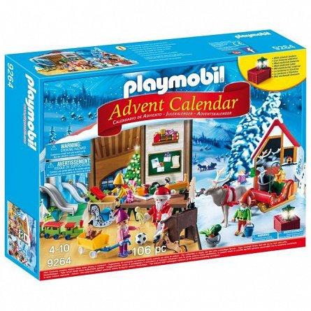 Playmobil-Calendar craciun-Atelierul lui Mos Craciun