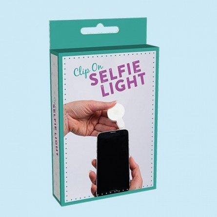 LED pentru Selfie, fixare pe telefon - Light Up Your Selfie