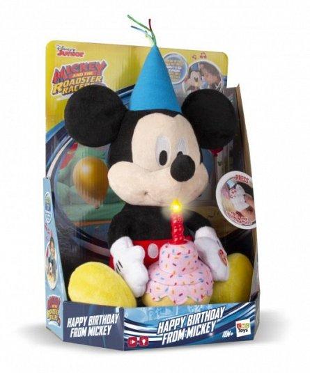 Plus Mickey-La multi ani,interactiv,cu sunete si lumini