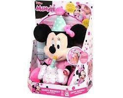 Plus Minnie-La multi ani,interactiv,cu sunete si lumini