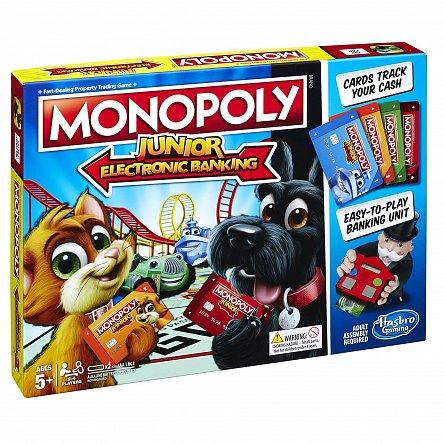 Joc Monopoly,Junior,Banca electronica
