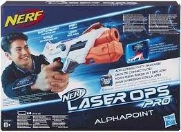 Nerf-Blaster Alphapoint,Laser Ops Pro,Single Shot,+8Y