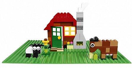 Lego-Classic,Placa verde